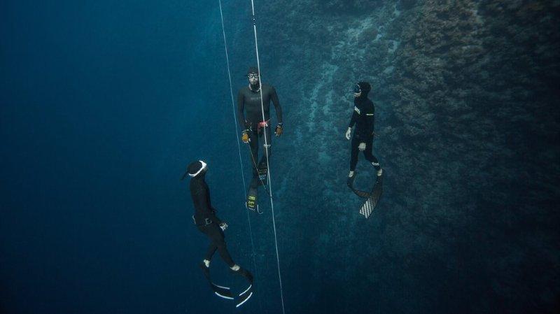 Ce Trélésien veut plonger à 100m de profondeur sans respirer