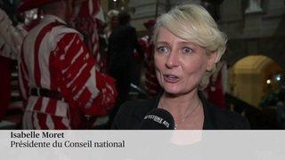 Isabelle Moret est la nouvelle présidente du Conseil national