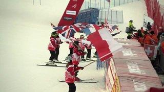 Adelboden: des milliers de fans pour la Coupe du monde de ski