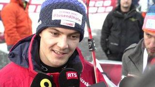 Ski alpin: Meillard décevant 17e à Adelboden, Kranjec victorieux