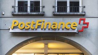 Postfinance va augmenter de 30% la taxe sur les paiements au guichet avec des bulletins de versement