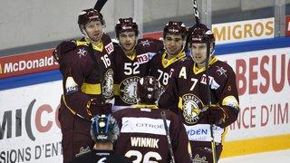 Hockey: Genève domine Ambri et prend la tête, Fribourg s'impose face à Langnau