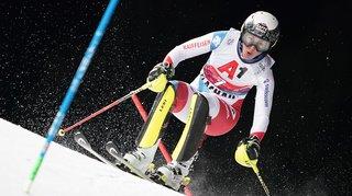 Ski alpin: Wendy Holdener au pied du podium du slalom de Flachau, remporté par Petra Vlhova