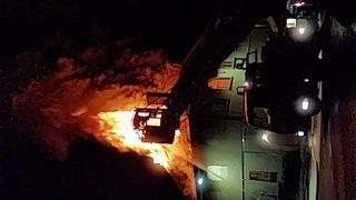Bussy-sur-Moudon: incendie de la salle communale