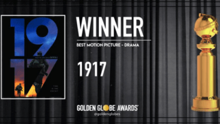 Golden Globes: «1917» et «Once Upon a Time… in Hollywood» primés