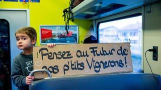 Manifestation de vignerons à Berne: les raisins de la colère tranquille