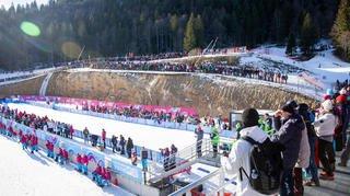 Le biathlon a ravi les spectateurs aux Tuffes