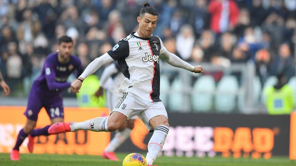 Lors de ce match amical, le Portugais (ici dimanche dernier en Serie A face à la Fiorentina) n'avait pas quitté le banc.