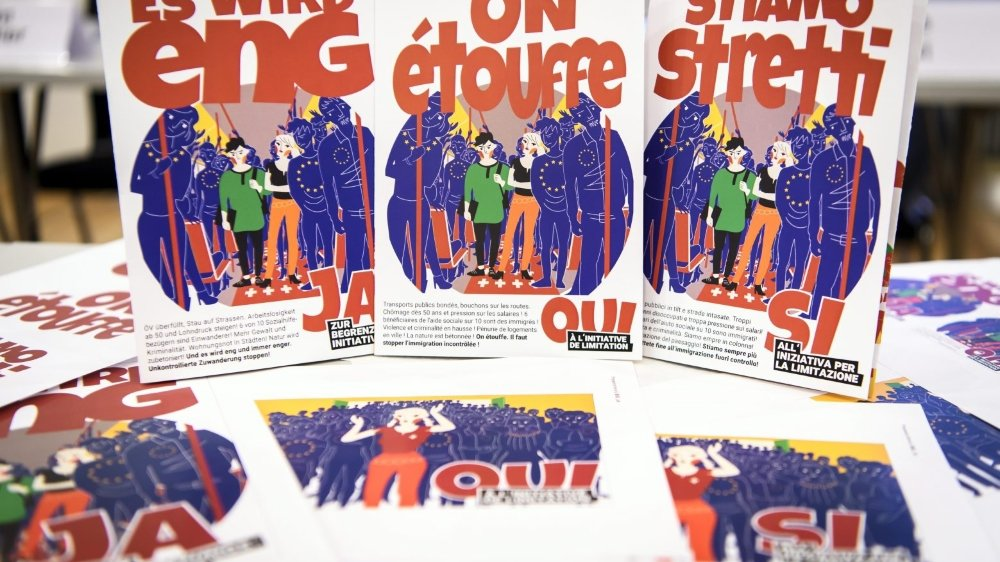 Campagne contre «l'arnaque» de la libre circulation