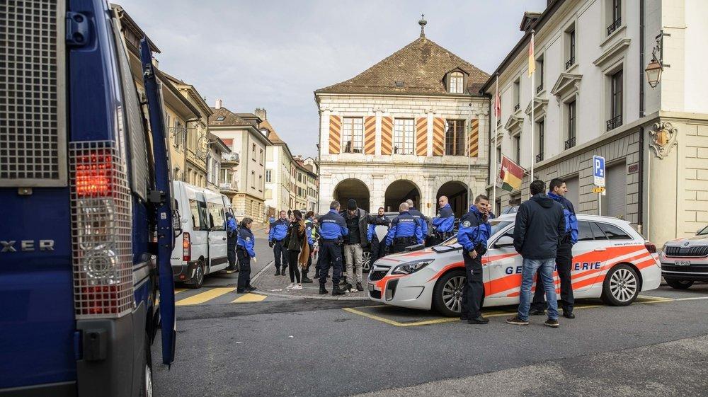 La gendarmerie avait interpellé plusieurs manifestants lors du sitting du 27 mars au petit matin à Aubonne.
