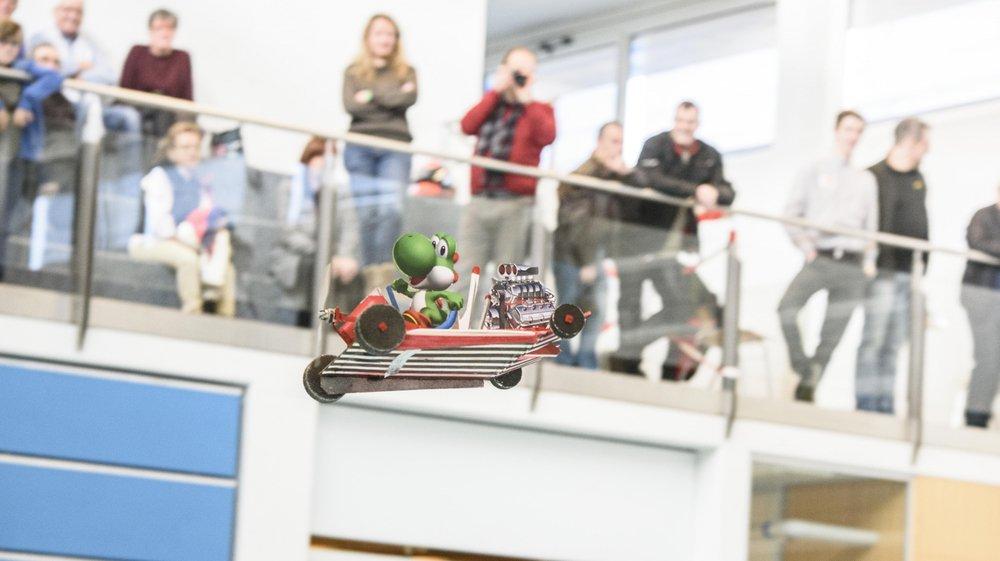 """Le """"Flying Indoor"""" du Groupe d'aéromodélisme (GAM) La Côte offrira l'occasion d'admirer une kyrielle d'objets volants en tous genres au centre communal Les Morettes, à Prangins."""