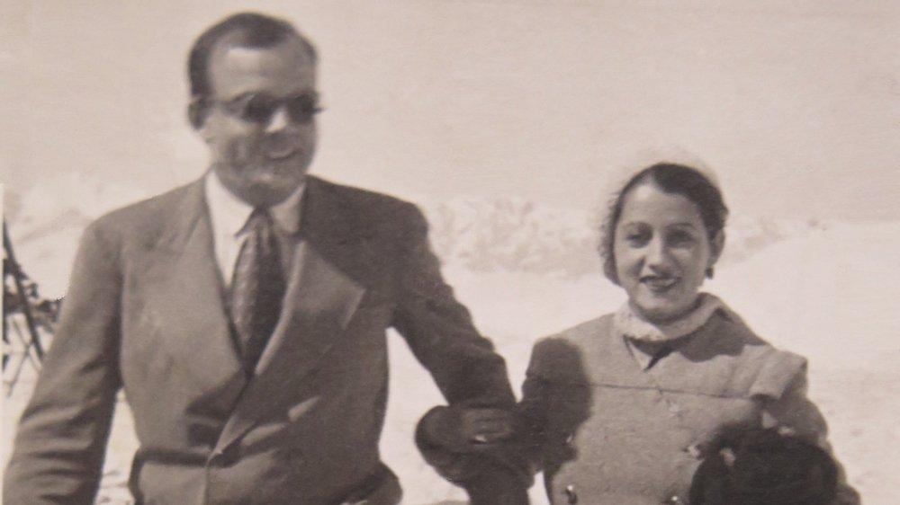 Antoine et Consuelo de Saint Exupéry.