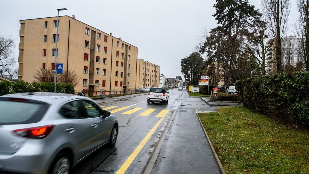 Le tragique accident a eu lieu de nuit à Morges, à l'avenue de Lonay, sur une route rectiligne qui était alors bien éclairée.