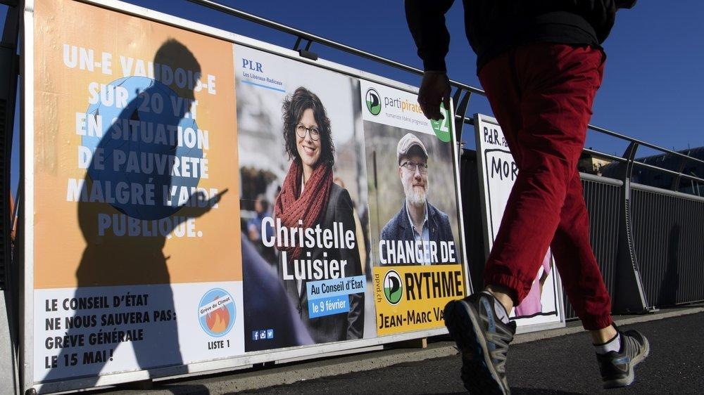 La simultanéité entre scrutins fédéraux et l'élection complémentaire au Conseil d'Etat n'a pas suscité une plus grande participation à la partielle vaudoise.