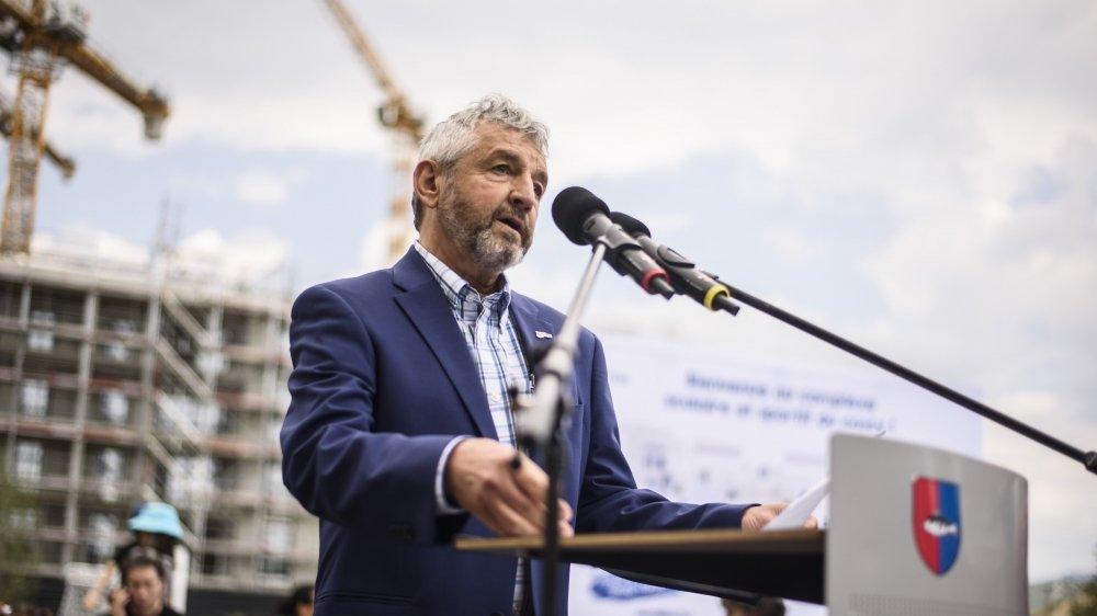 Daniel Rossellat a présenté le plan climat de la ville de Nyon.
