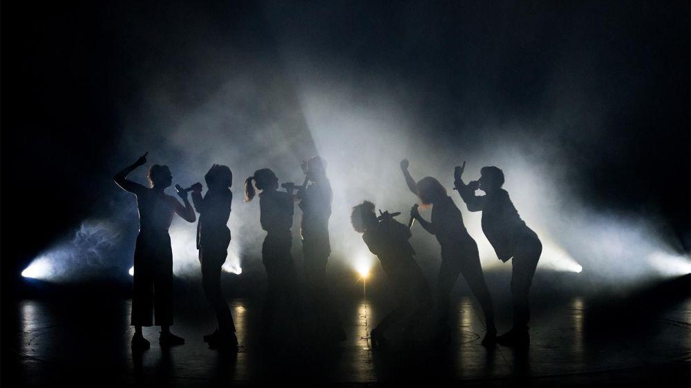 """Le groupe Voxset sera sur la scène du Théâtre de Beausobre ce mercredi avec son nouveau spectacle a cappella """"Vox office"""" dédié aux musiques du septième art. Un spectacle vibrant, à ne pas manquer."""