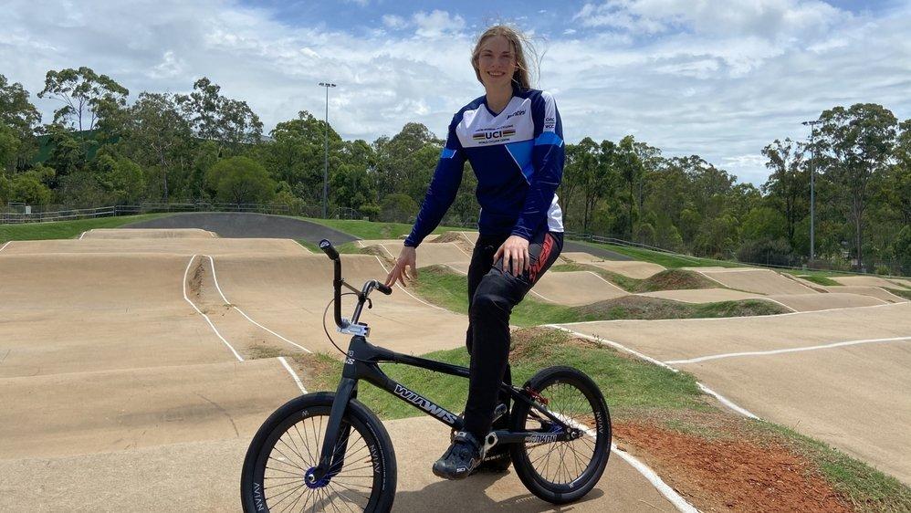 Zoé Claessens a découvert pour la première fois l'Australie. Elle y disputera deux étapes de Coupe du monde.