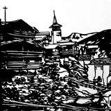 Exposition de découpage papier de Muriel Jeamonod