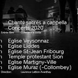 Concert du Choeur NC Vox - Eglise Martigny-Ville