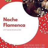 Noche Flamenco au Salon du bleu café