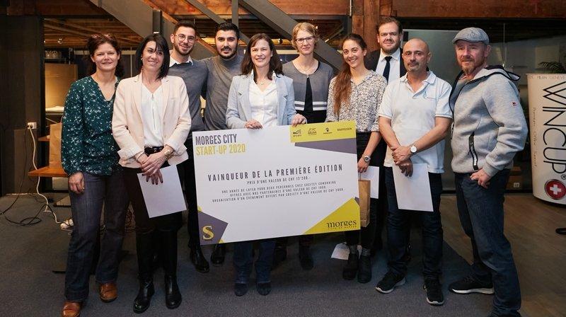 Les lauréats de la première édition.