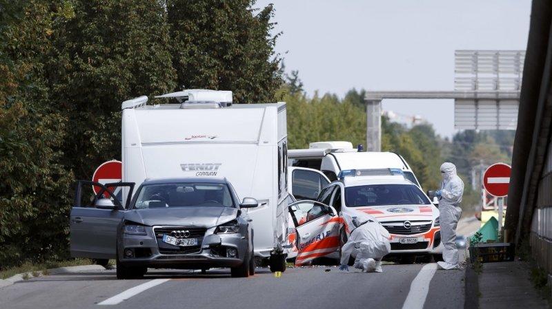 Gendarme vaudoise fauchée: les fuyards condamnés à 3 et 4 ans de prison