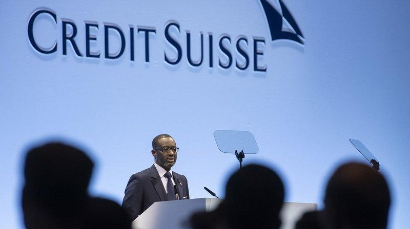 Banques: Credit Suisse enregistre un bénéfice de 3,42 milliards de francs en 2019