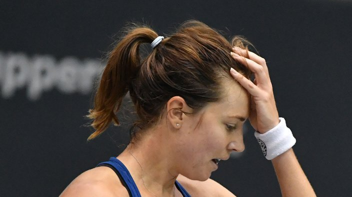 Stefanie Vögele a échoué sur le fil devant la roumaine Monica Niculescu (WTA 128).
