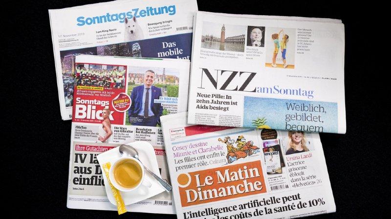 Revue de presse: présidence de l'UDC, émigration des Suisses et déploiement de la 5G… les titres de ce dimanche