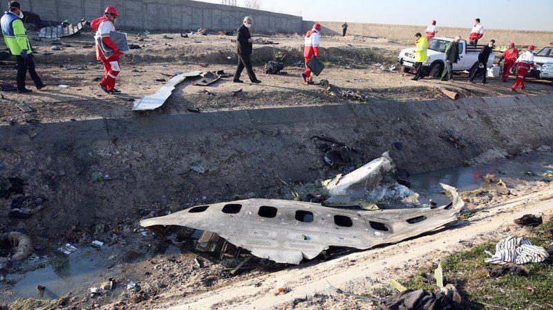 Crash du Boeing à Téhéran: l'Iran confirme le tir de deux missiles en direction de l'avion