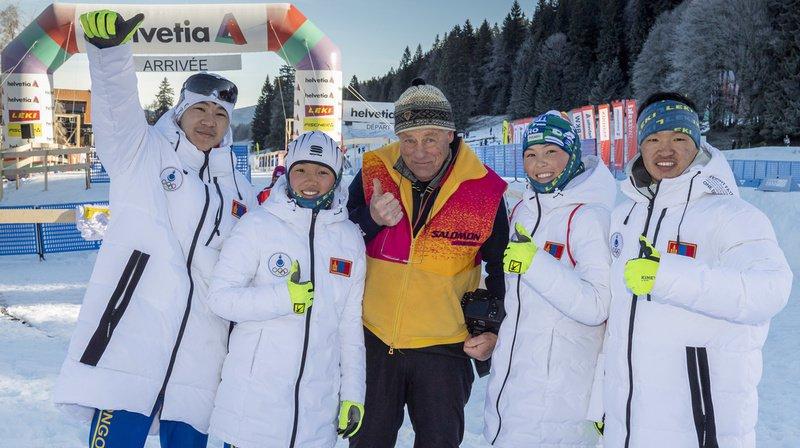 JOJ 2020 de Lausanne: partis de rien, des fondeurs mongols participent aux Jeux