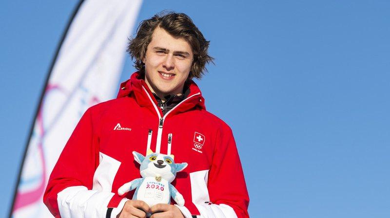 Le jeune Saint-Gallois a dominé les débats dans l'épreuve de boardercross.