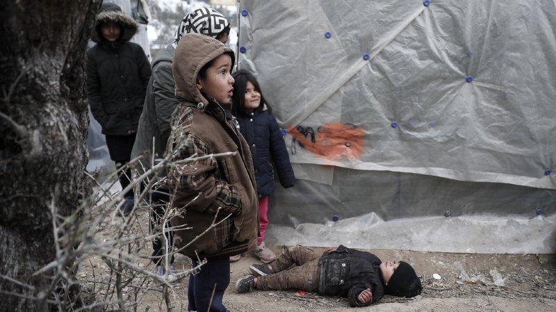 Asile: une pétition demande que 200 enfants réfugiés soient admis en Suisse