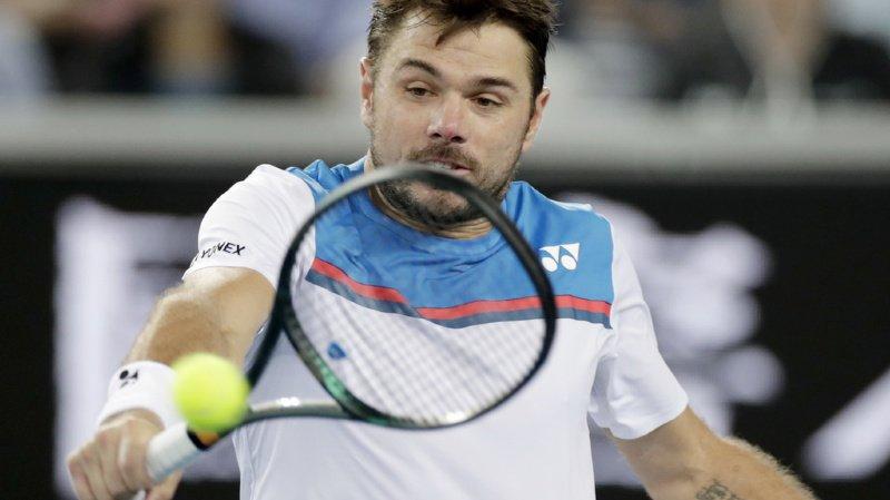 Tennis - Open d'Australie: Wawrinka qualifié pour les huitièmes de finale après l'abandon d'Isner