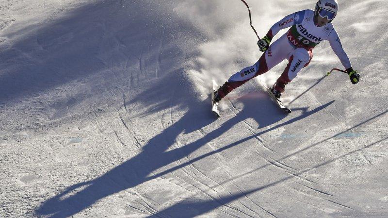 Avec un temps de 1:46, la skieuse suisse Joana Hählen, termine 3es du classement.