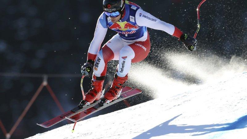 Mauro Caviezel termine 4e du classement à Kitzbühe