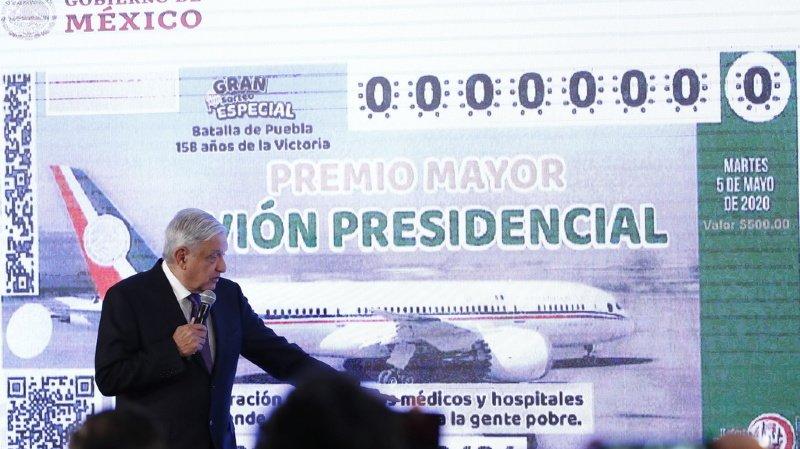 Mexique: le président veut offrir son avion au tirage au sort