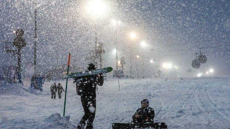 Ski alpin: la descente dames de Rosa Khutor annulée à cause de fortes chutes de neige