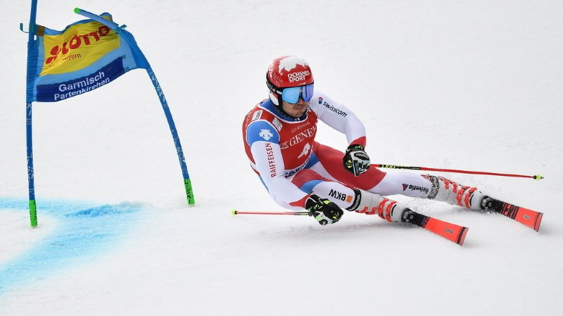 Le Valaisan d'origine neuchâteloise a remporté la première manche.