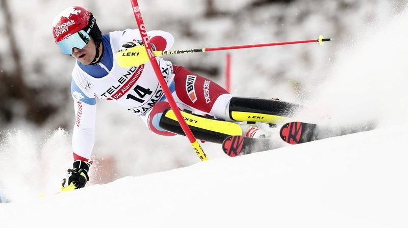 Loïc Meillard a été le meilleur Suisse des qualifications.