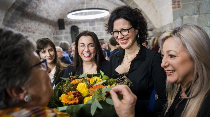 Christelle Luisier élue au Conseil d'Etat vaudois