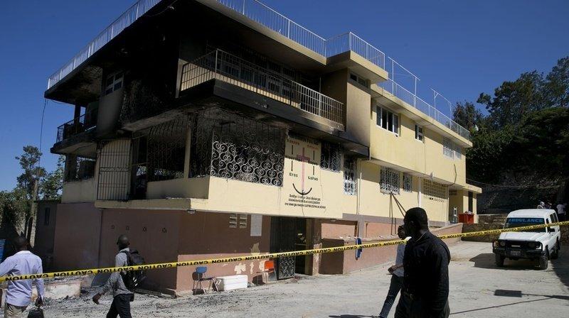 L'orphelinat était situé dans un bâtiment insalubre de deux étages.