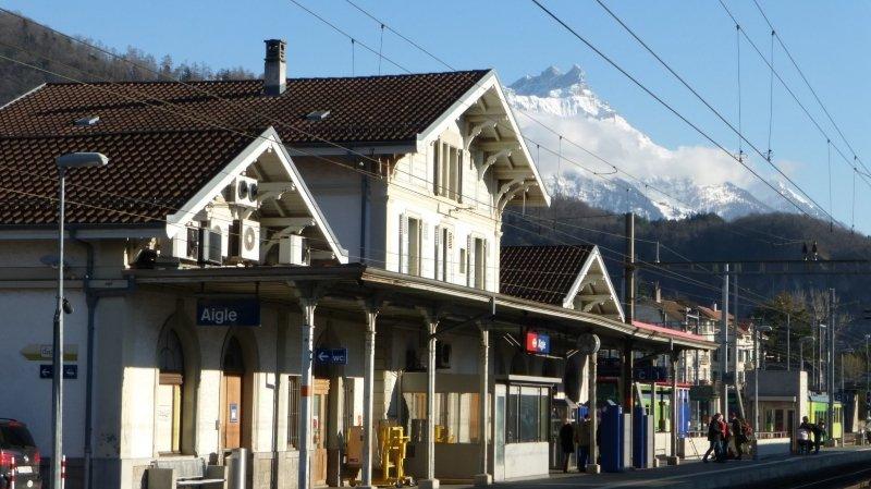 Le brigandage a eu lieu à la gare d'Aigle.
