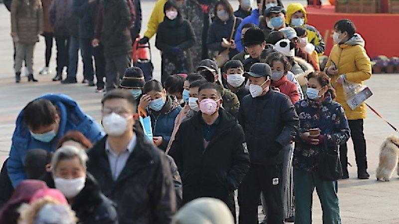 Coronavirus: Pékin met en garde contre la «panique inutile»