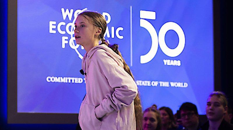 WEF 2020: «rien n'a été fait» pour le climat, déplore Greta Thunberg à Davos