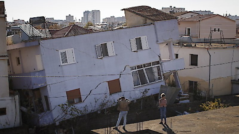 Le tremblement de terre du 26 novembre dernier avait provoqué de gros dégâts.
