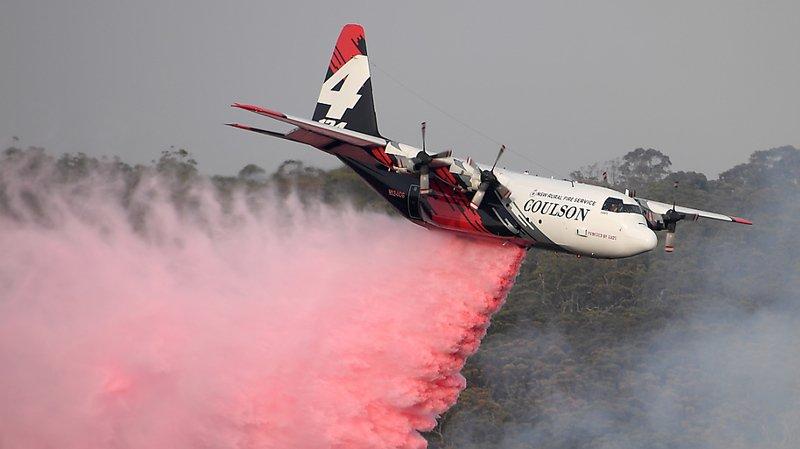 Australie: un bombardier d'eau s'est écrasé, 3 pompiers américains morts