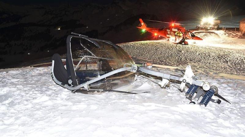 Chute d'un télésiège au Fronalpstock (SZ): quatre blessés graves