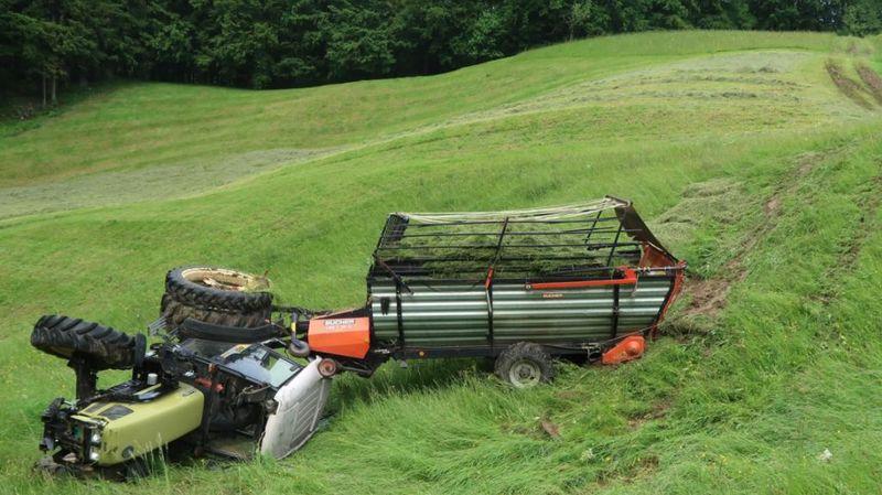 Accidents agricoles: une campagne lancée pour inciter les paysans à attacher leur ceinture