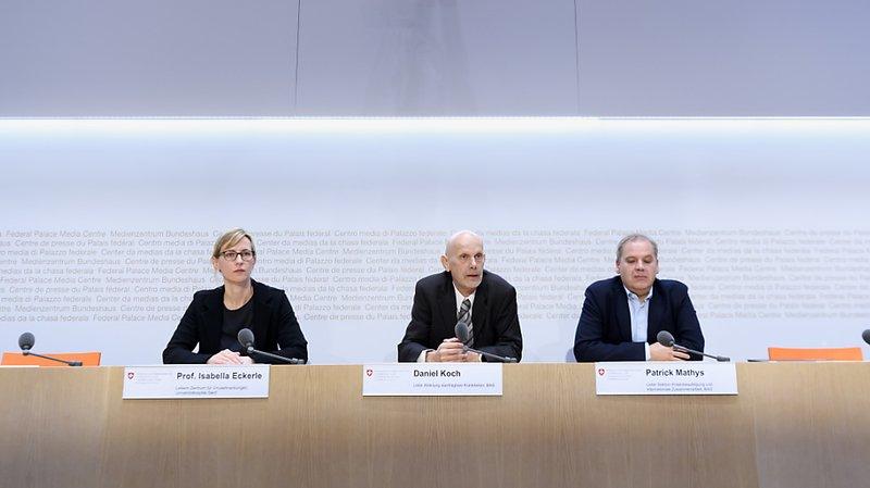 Les représentants de l'OFSP ont rencontré la presse ce mardi à Berne.